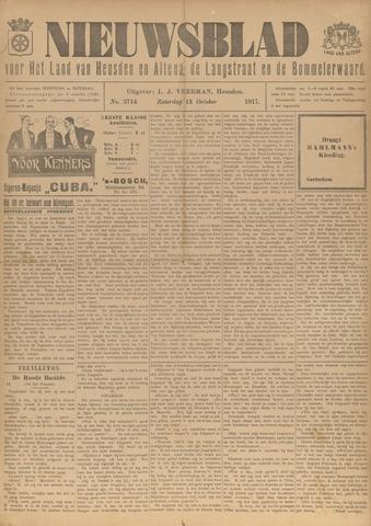 Nieuwsblad het land van Heusden en Altena de Langstraat en de Bommelerwaard 1917-10-13