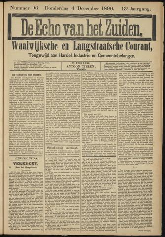 Echo van het Zuiden 1890-12-04