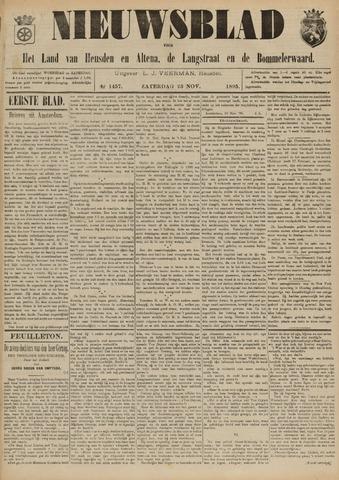 Nieuwsblad het land van Heusden en Altena de Langstraat en de Bommelerwaard 1895-11-23