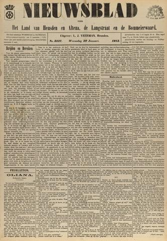 Nieuwsblad het land van Heusden en Altena de Langstraat en de Bommelerwaard 1913-01-29