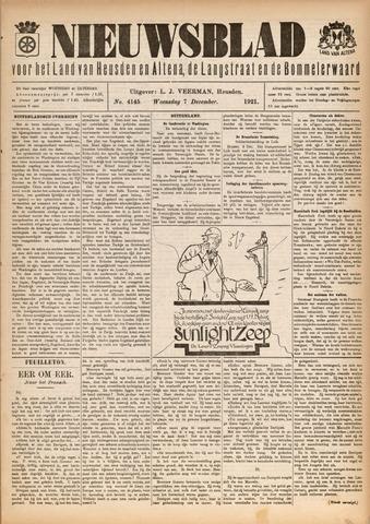 Nieuwsblad het land van Heusden en Altena de Langstraat en de Bommelerwaard 1921-12-07