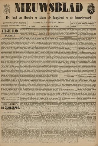 Nieuwsblad het land van Heusden en Altena de Langstraat en de Bommelerwaard 1895-07-13