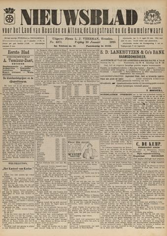 Nieuwsblad het land van Heusden en Altena de Langstraat en de Bommelerwaard 1925-01-30