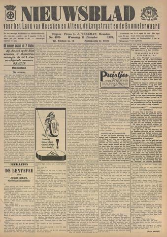 Nieuwsblad het land van Heusden en Altena de Langstraat en de Bommelerwaard 1929-12-11