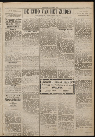 Echo van het Zuiden 1920-10-14