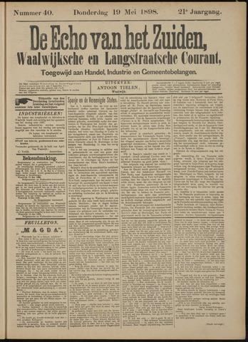 Echo van het Zuiden 1898-05-19