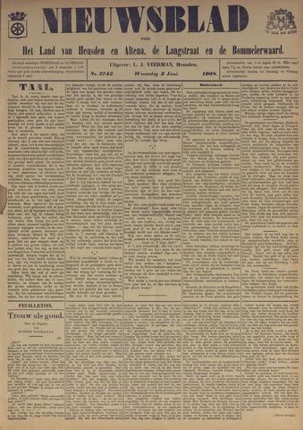 Nieuwsblad het land van Heusden en Altena de Langstraat en de Bommelerwaard 1908-06-03