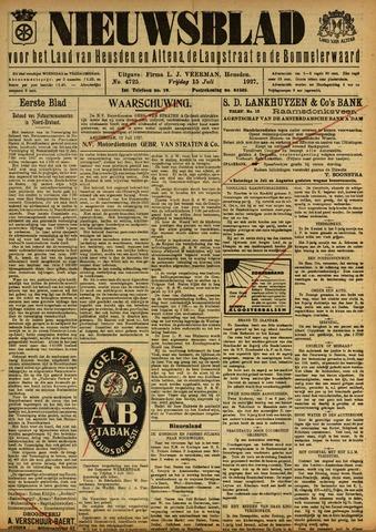 Nieuwsblad het land van Heusden en Altena de Langstraat en de Bommelerwaard 1927-07-15