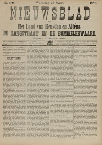 Nieuwsblad het land van Heusden en Altena de Langstraat en de Bommelerwaard 1887-03-23