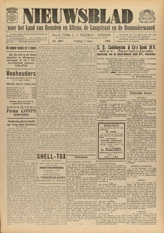 Nieuwsblad het land van Heusden en Altena de Langstraat en de Bommelerwaard 1934-09-07