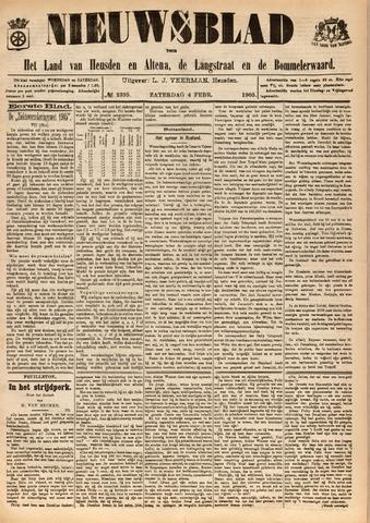 Nieuwsblad het land van Heusden en Altena de Langstraat en de Bommelerwaard 1905-02-04