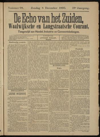 Echo van het Zuiden 1895-12-08