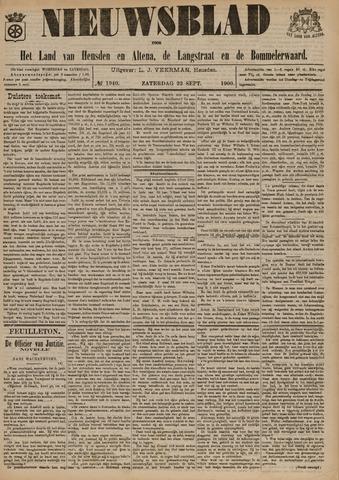 Nieuwsblad het land van Heusden en Altena de Langstraat en de Bommelerwaard 1900-09-22