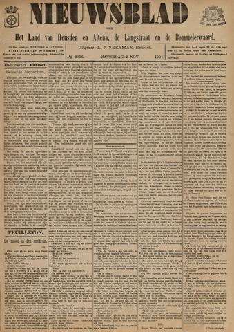 Nieuwsblad het land van Heusden en Altena de Langstraat en de Bommelerwaard 1901-11-02