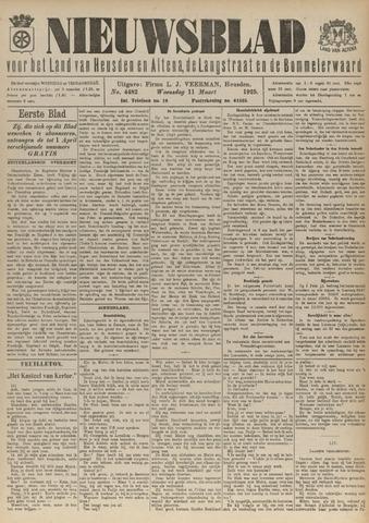 Nieuwsblad het land van Heusden en Altena de Langstraat en de Bommelerwaard 1925-03-11