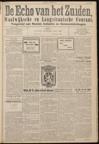 Echo van het Zuiden 1933-11-04