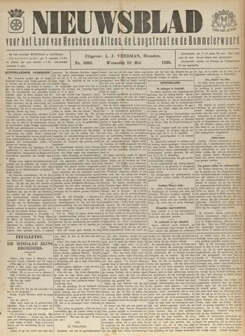 Nieuwsblad het land van Heusden en Altena de Langstraat en de Bommelerwaard 1920-05-19