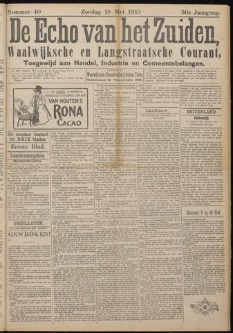 Echo van het Zuiden 1913-05-18