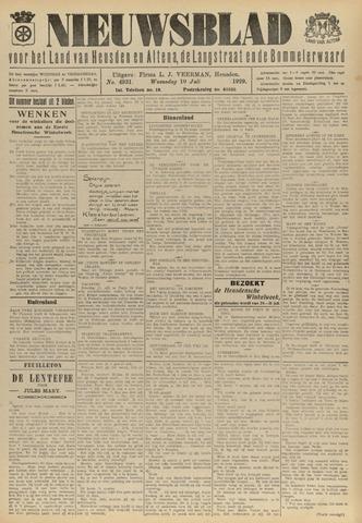 Nieuwsblad het land van Heusden en Altena de Langstraat en de Bommelerwaard 1929-07-10