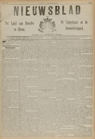 Nieuwsblad het land van Heusden en Altena de Langstraat en de Bommelerwaard 1891-02-28