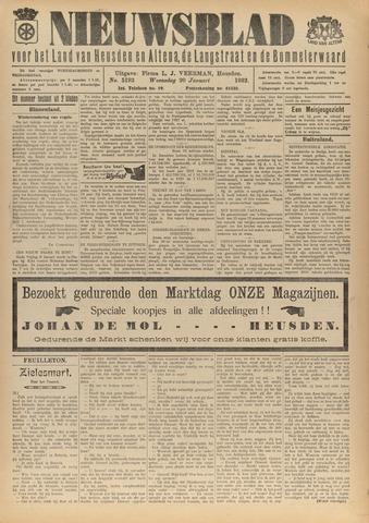 Nieuwsblad het land van Heusden en Altena de Langstraat en de Bommelerwaard 1932-01-20