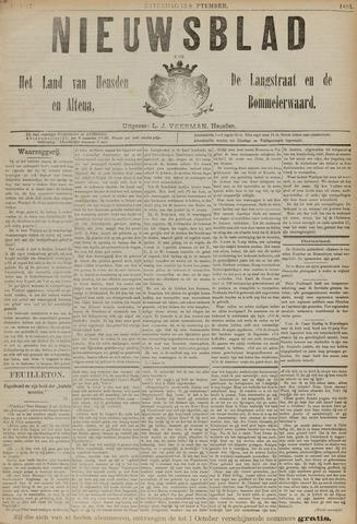 Nieuwsblad het land van Heusden en Altena de Langstraat en de Bommelerwaard 1891-09-12