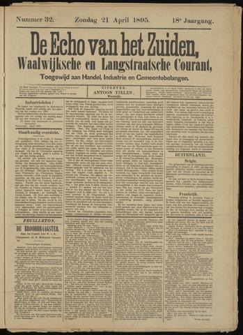 Echo van het Zuiden 1895-04-21