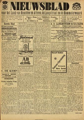 Nieuwsblad het land van Heusden en Altena de Langstraat en de Bommelerwaard 1927-01-07