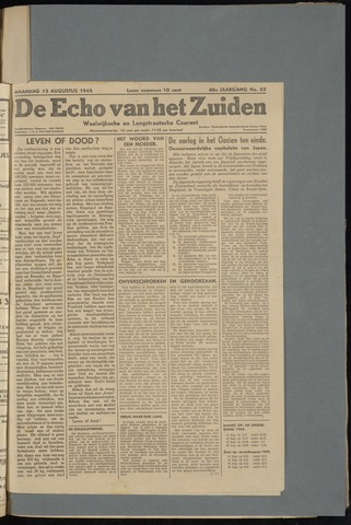 Echo van het Zuiden 1945-08-13