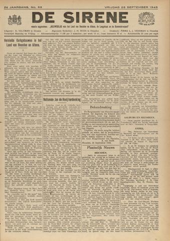 De Sirene 1945-09-28