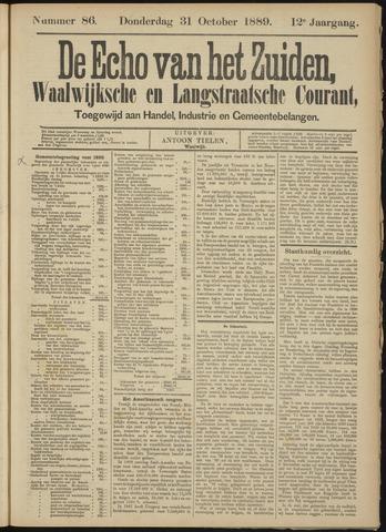 Echo van het Zuiden 1889-10-31
