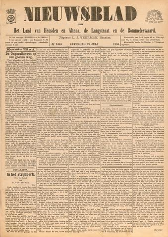 Nieuwsblad het land van Heusden en Altena de Langstraat en de Bommelerwaard 1905-07-29