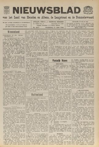 Nieuwsblad het land van Heusden en Altena de Langstraat en de Bommelerwaard 1948-06-21