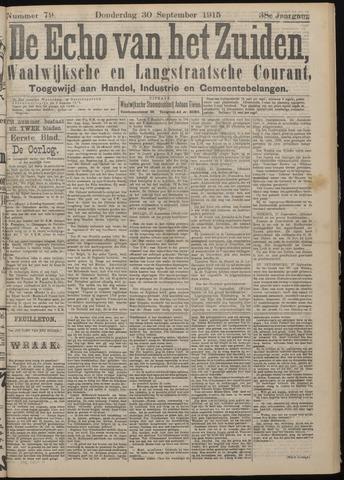 Echo van het Zuiden 1915-09-30