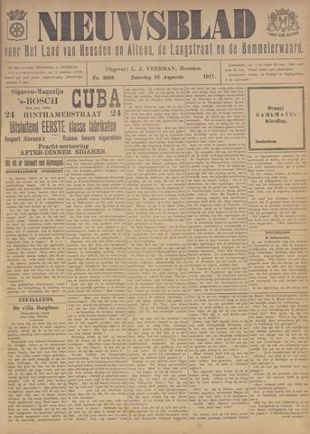 Nieuwsblad het land van Heusden en Altena de Langstraat en de Bommelerwaard 1917-08-18