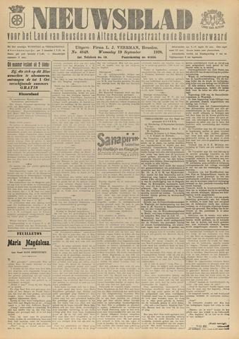 Nieuwsblad het land van Heusden en Altena de Langstraat en de Bommelerwaard 1928-09-19