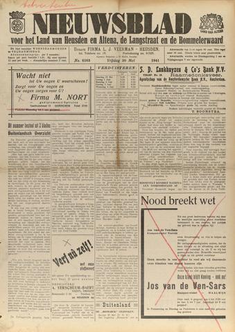 Nieuwsblad het land van Heusden en Altena de Langstraat en de Bommelerwaard 1941-05-30