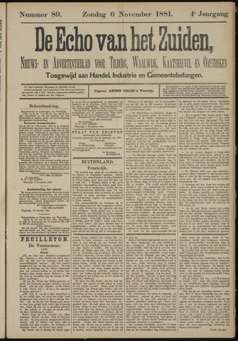 Echo van het Zuiden 1881-11-06