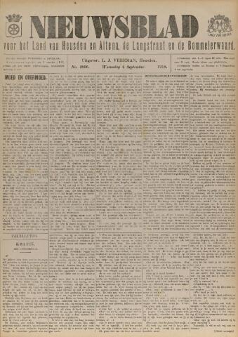 Nieuwsblad het land van Heusden en Altena de Langstraat en de Bommelerwaard 1918-09-04