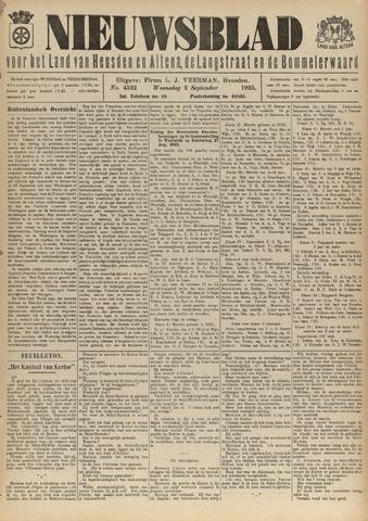 Nieuwsblad het land van Heusden en Altena de Langstraat en de Bommelerwaard 1925-09-02