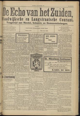 Echo van het Zuiden 1931-11-28