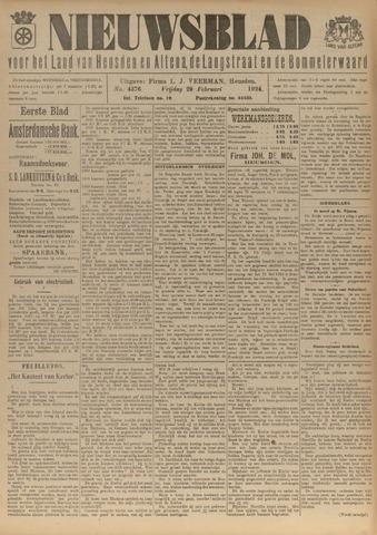 Nieuwsblad het land van Heusden en Altena de Langstraat en de Bommelerwaard 1924-02-29
