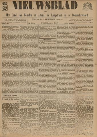 Nieuwsblad het land van Heusden en Altena de Langstraat en de Bommelerwaard 1901-11-20