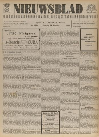 Nieuwsblad het land van Heusden en Altena de Langstraat en de Bommelerwaard 1920-02-14