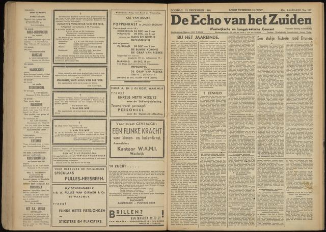 Echo van het Zuiden 1946-12-31