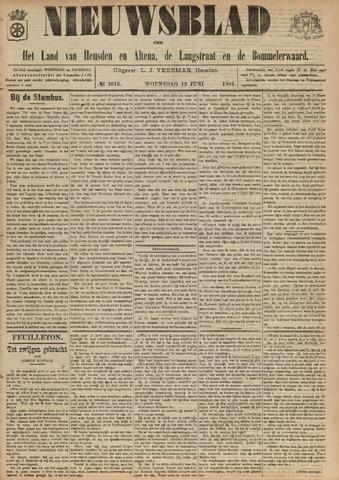 Nieuwsblad het land van Heusden en Altena de Langstraat en de Bommelerwaard 1901-06-12
