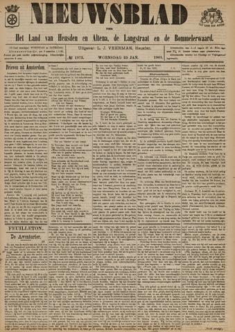 Nieuwsblad het land van Heusden en Altena de Langstraat en de Bommelerwaard 1901-01-23