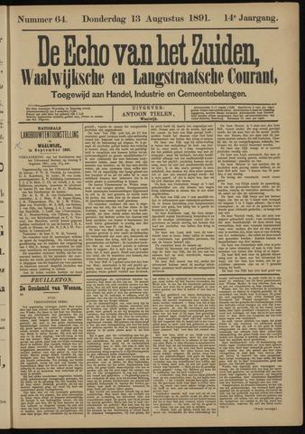 Echo van het Zuiden 1891-08-13