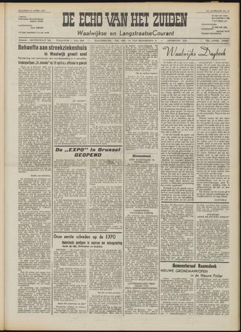 Echo van het Zuiden 1958-04-21