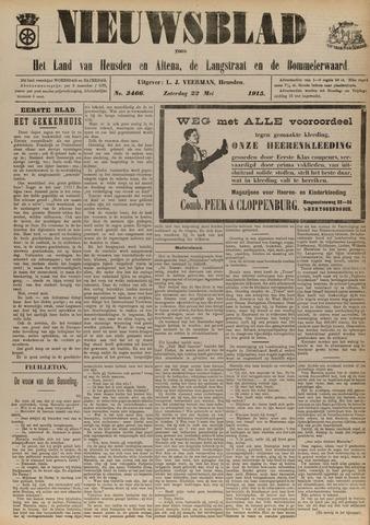 Nieuwsblad het land van Heusden en Altena de Langstraat en de Bommelerwaard 1915-05-22